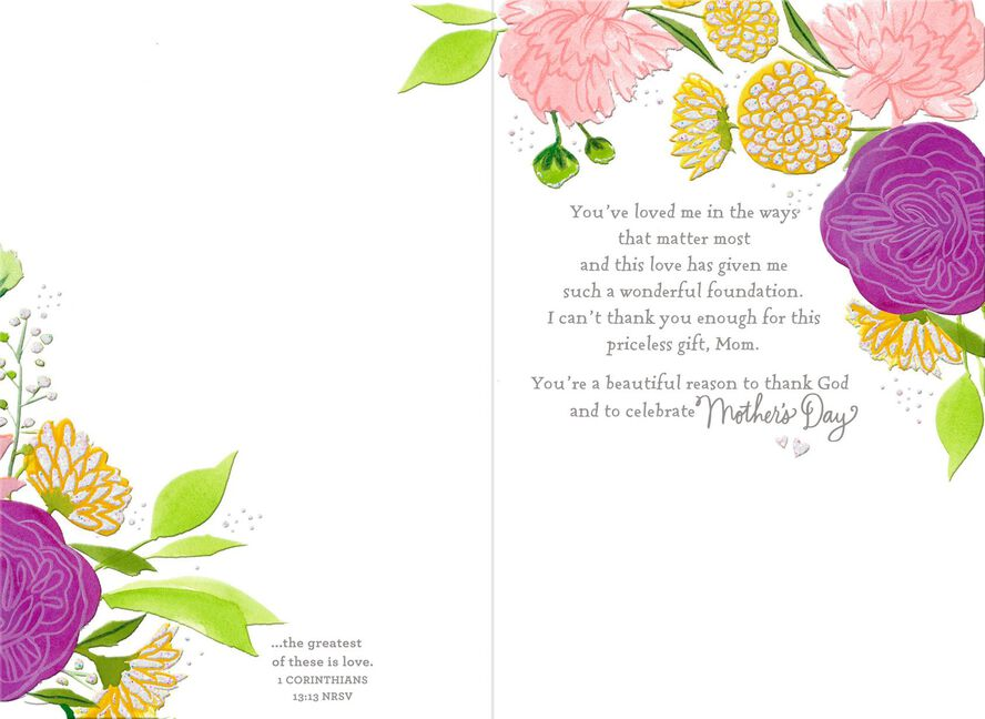 Seeds of love religious mothers day card greeting cards hallmark card seeds of love religious mothers day m4hsunfo