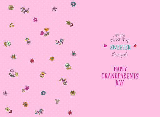 Sweet Sundae Grandparents Day Card for Great-Grandma,