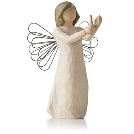 Willow Tree® Angel of Hope Flame Figurine, , large
