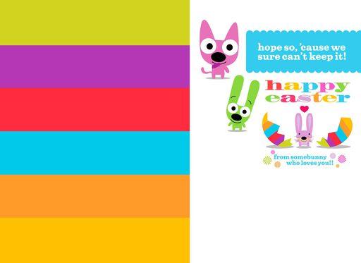 hoops&yoyo Somebunny Easter Sound Card,