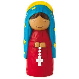 Spanish Our Lady of Guadalupe Faith Friends Figurine, , large