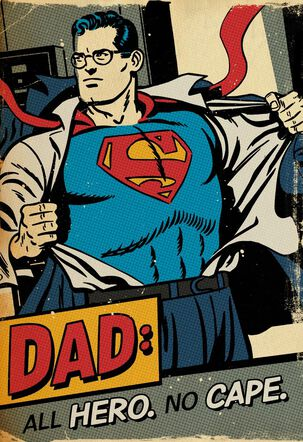 Dad is My Hero Father's Day Sound Card