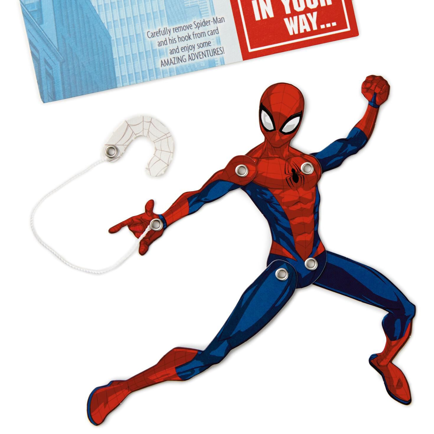 spider man pop up musical birthday card for grandson greeting .