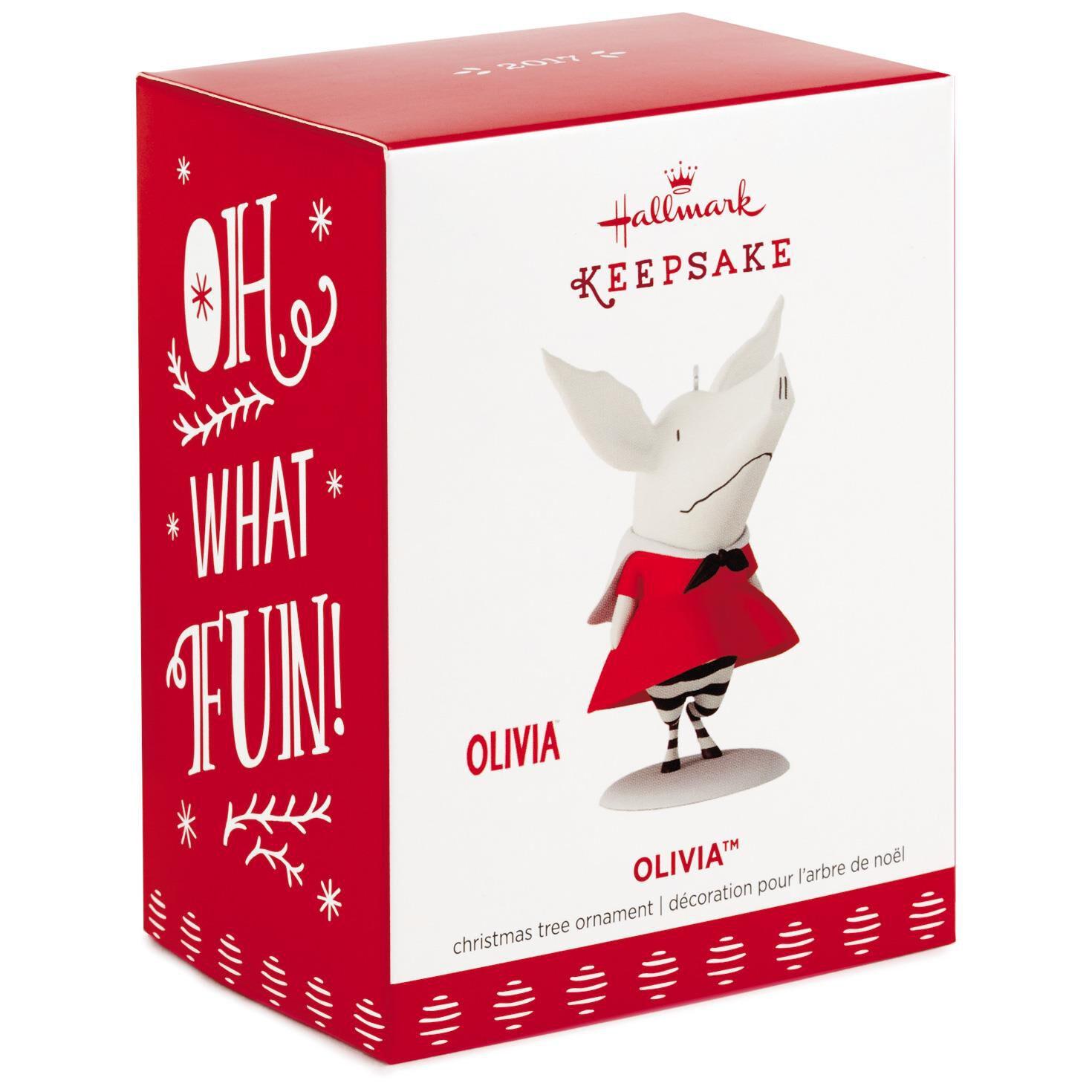 Olivia™ the Pig Ornament - Keepsake Ornaments - Hallmark