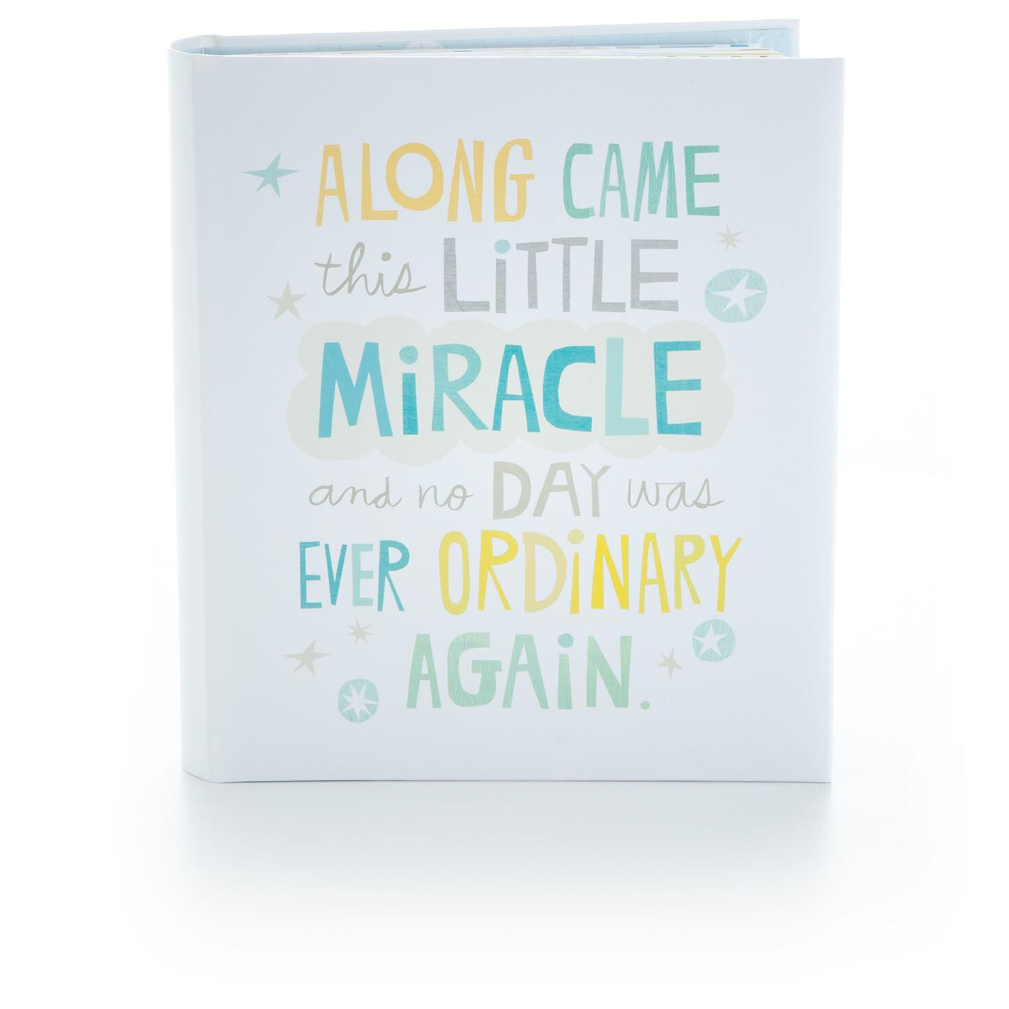 Our Little Miracle baby/'s first memory book