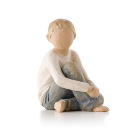 Willow Tree® Caring Child Figurine, , large