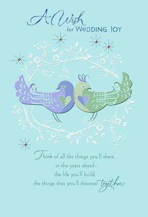 Feel So Lucky, So Loved Wedding Card
