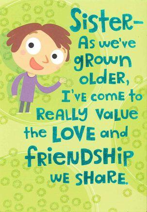 Head Games Sister Birthday Card