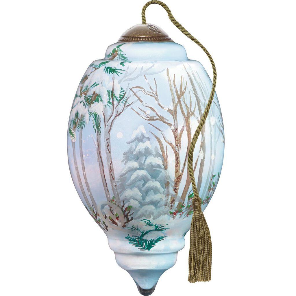 Little Christmas Joy Glass Ne\'Qwa Art Ornament - Specialty Ornaments ...