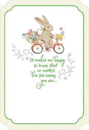 My Thoughts Will Always Find You Easter Card