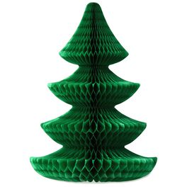 """Tree Honeycomb Bow 2-Pack, 7.5"""", , large"""