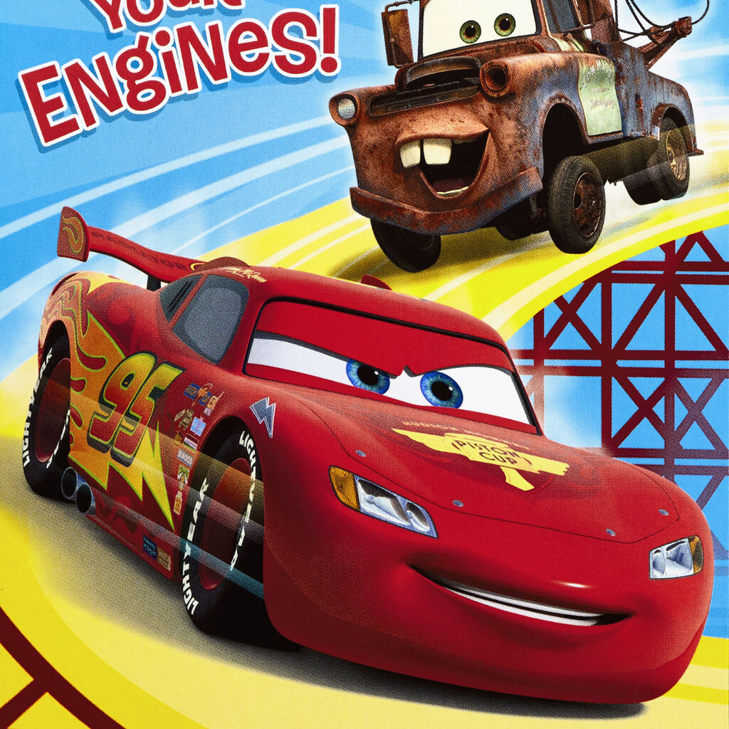 Disney Pixar Cars Lightning Mcqueen And Mater Start Your Engines
