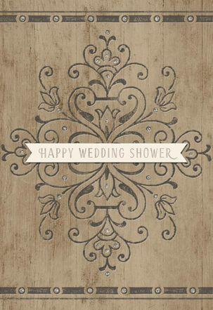 Real Love Wedding Shower Card