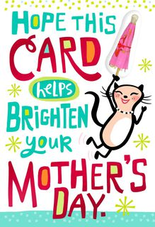 Drinks for Mom Funny Mother's Day Card,