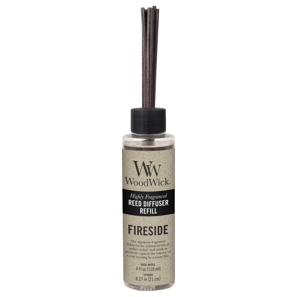 Woodwick Reed Diffuser Refill Fireside