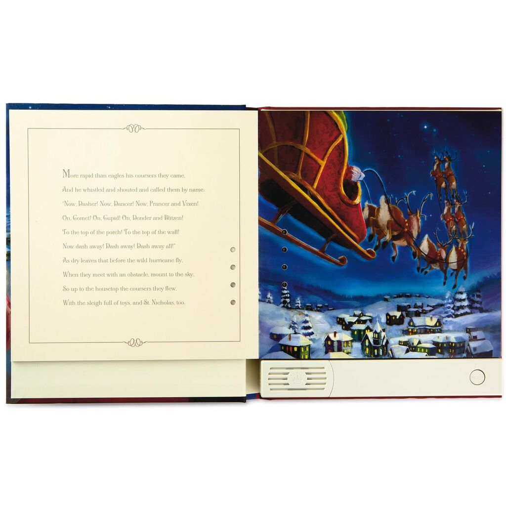 Recordable Christmas Books.The Night Before Christmas Pop Up Recordable Storybook