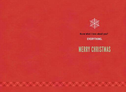 Cold-Feet Warmer Christmas Card,