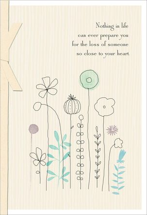 Your Loved One Is At Peace Sympathy Card