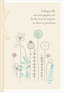Your Loved One Is At Peace Sympathy Card,