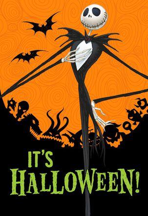 Tim Burton's The Nightmare Before Christmas Season's Creepings Halloween Card