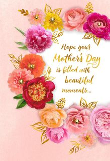 Floral Wreath Mother's Day Card From Us,