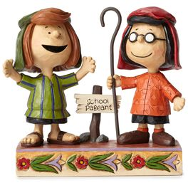 Jim Shore® Peanuts Marcie and Peppermint Patty Figurine, 3rd in Series, , large