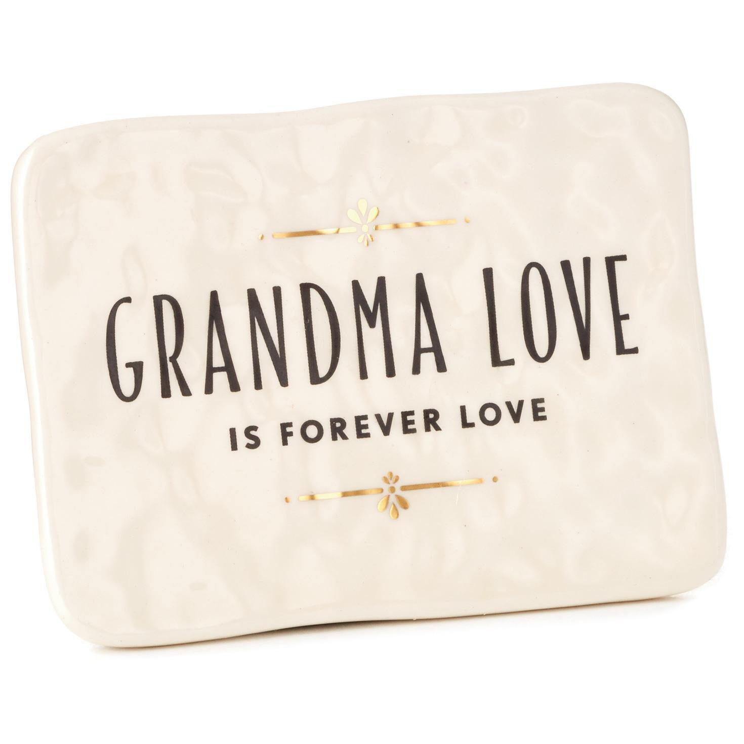 Grandma Love Quotes Grandma Love Ceramic Quote Block, 4x3   Plaques & Signs   Hallmark Grandma Love Quotes