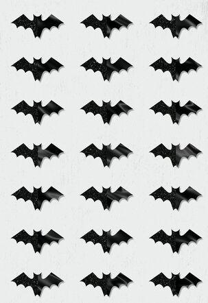 Bats Everywhere Halloween Card