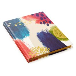 Abstract Satin Gold Foil Journal, , large