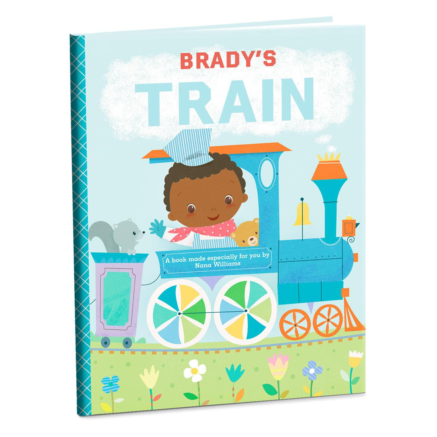 train personalized book personalized books hallmark