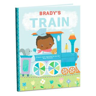 Train Personalized Book,