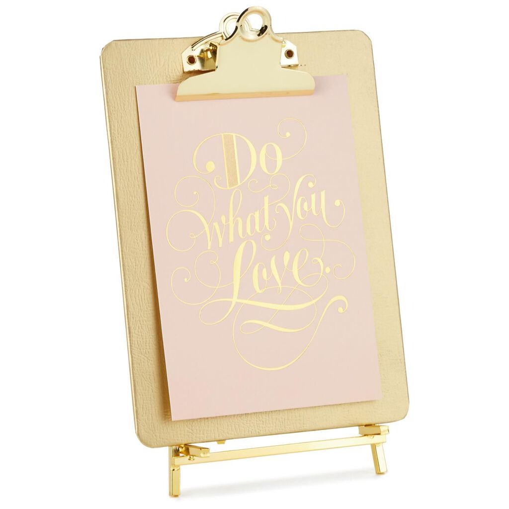 Gold Clipboard Picture Frame With Easel - Picture Frames - Hallmark