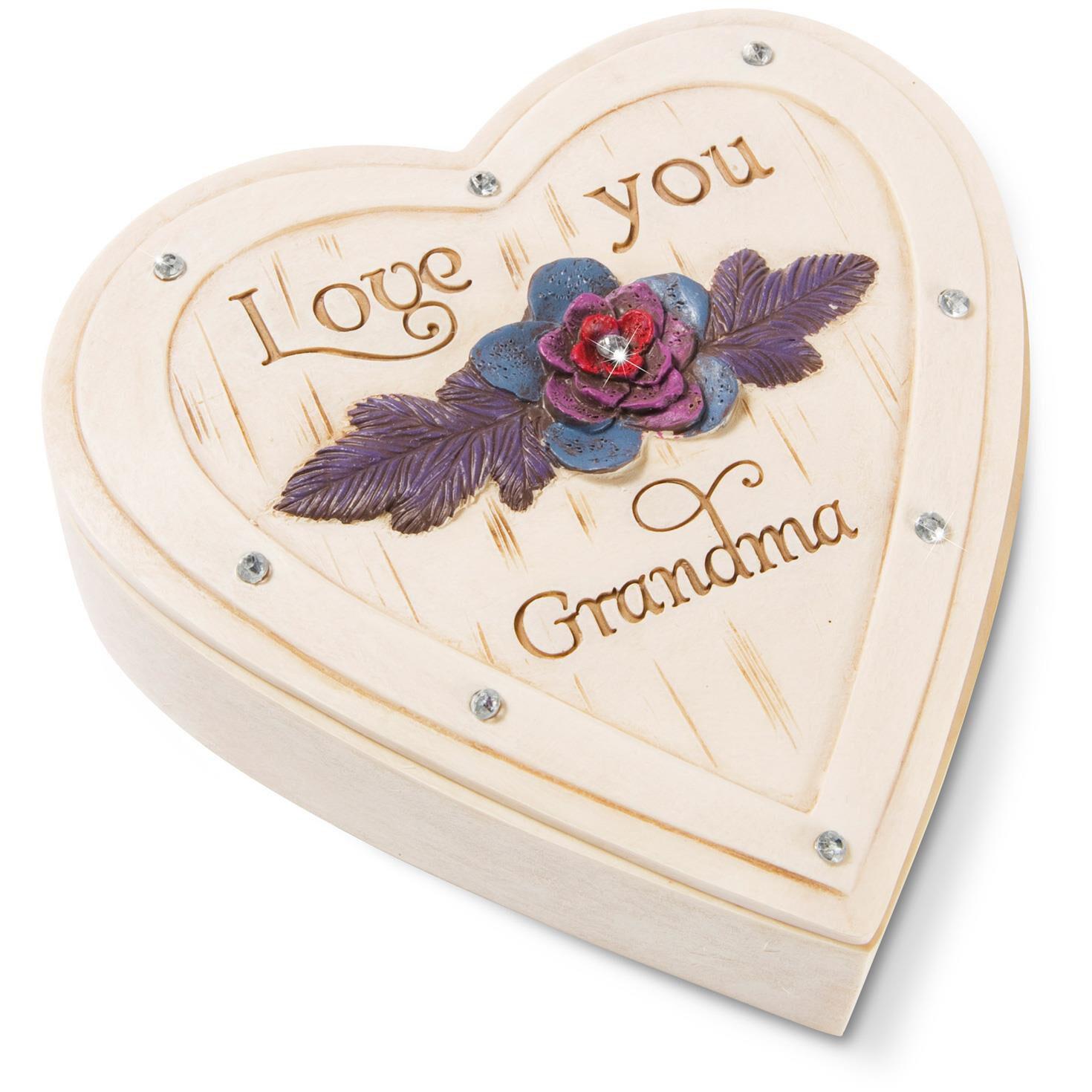 Love You Grandma Jewelry Box Decorative Accessories Hallmark