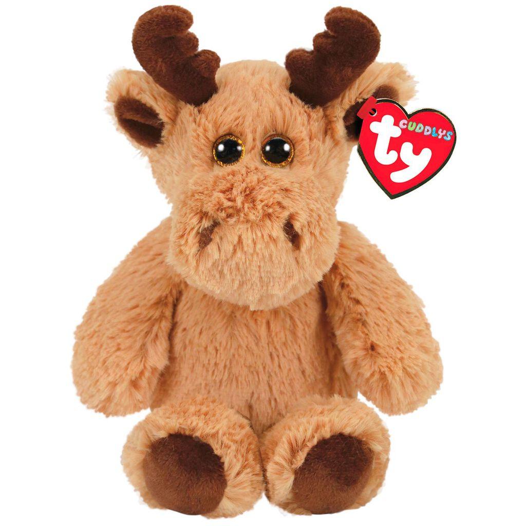 Ty Cuddlys Archibald Moose Stuffed Animal 8 Classic Stuffed