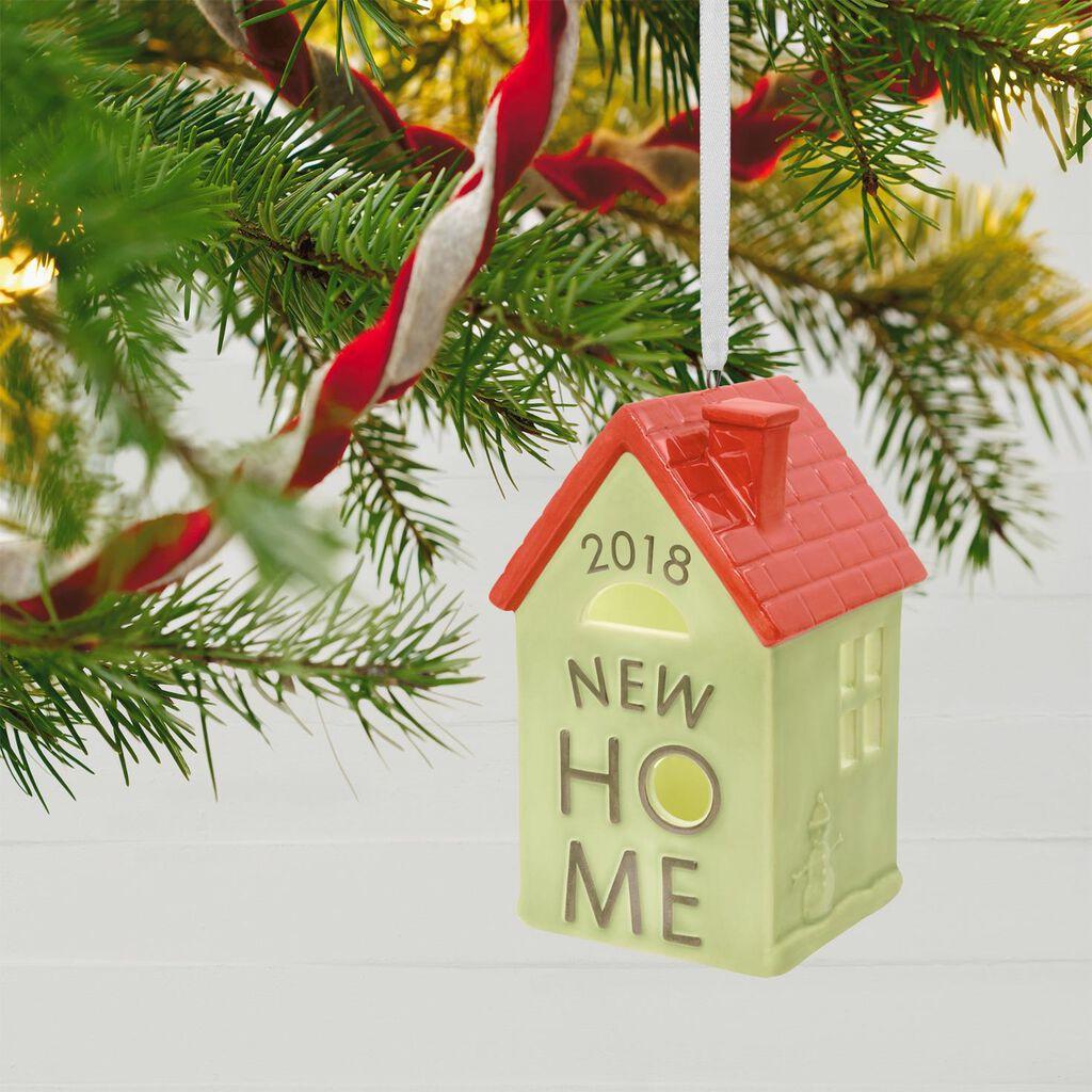 38430471e16b7 New Home 2018 Ceramic Ornament New Home 2018 Ceramic Ornament ...