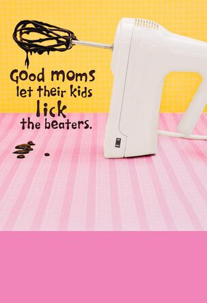 Mom's Kitchen Helper Funny Mother's Day Card