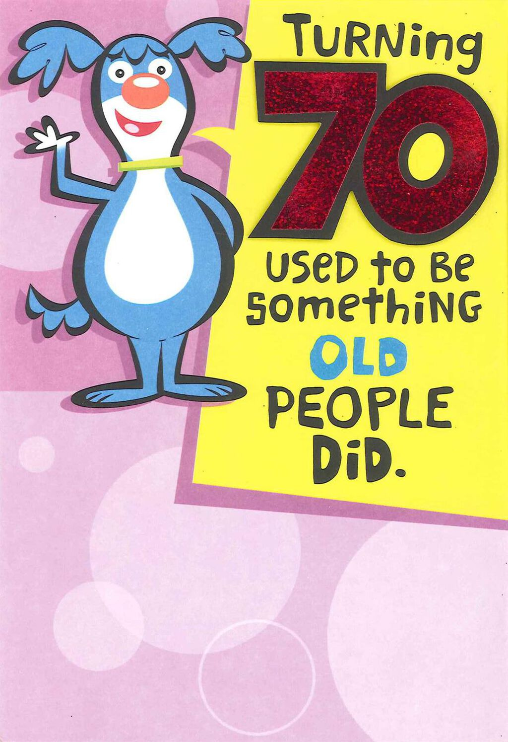 Youre One Of The Cool Ones Funny 70th Birthday Card