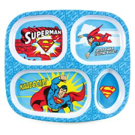 SUPERMAN™ Divided Plate by Bumkins, , large