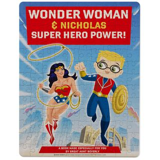 WONDER WOMAN™ Super Hero Power Personalized Puzzle and Tin,
