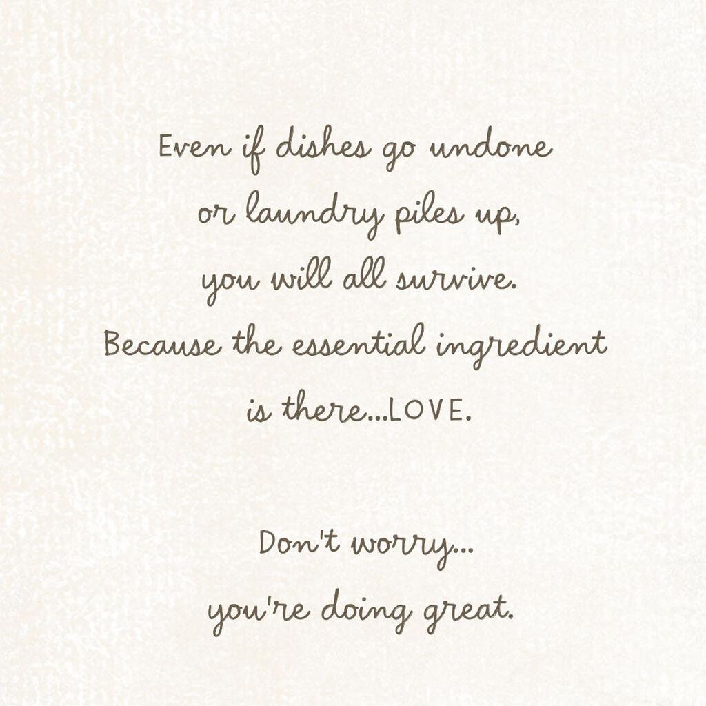 You're a Great Parent Encouragement Card