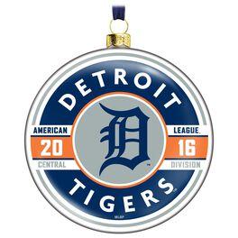 MLB Detroit Tigers™ Glass Ornament, , large
