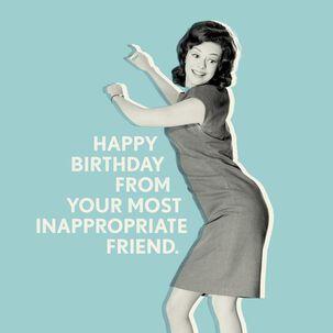 Shake It, Baby! Birthday Card