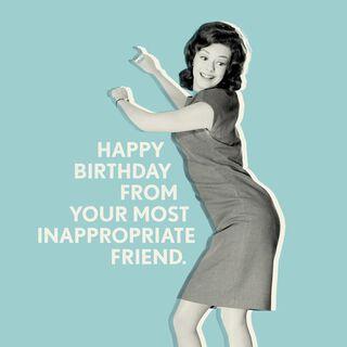Shake It, Baby! Birthday Card,