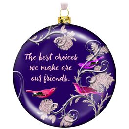 Elegant Friends Forever Ornament, , large