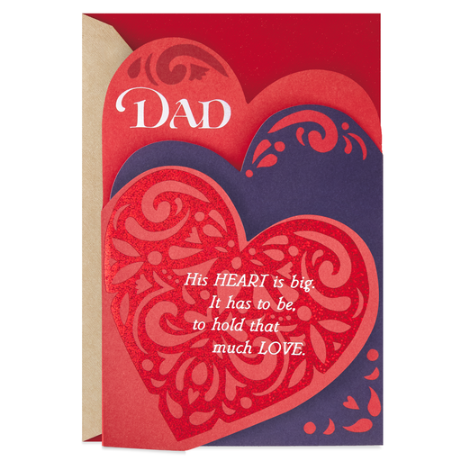 The Heart And Head Of Our Family Valentines Day Card For
