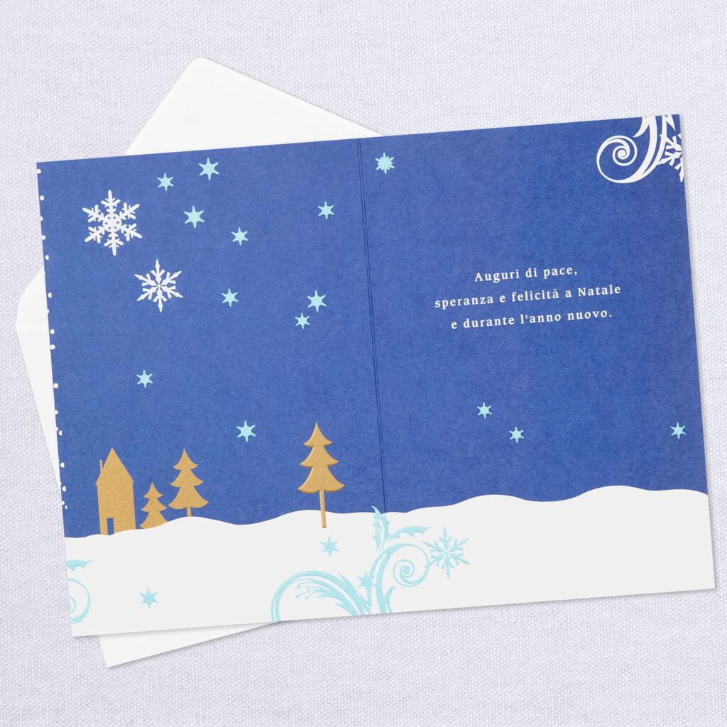 Hallmark Italian Christmas Cards   Christmas Cards