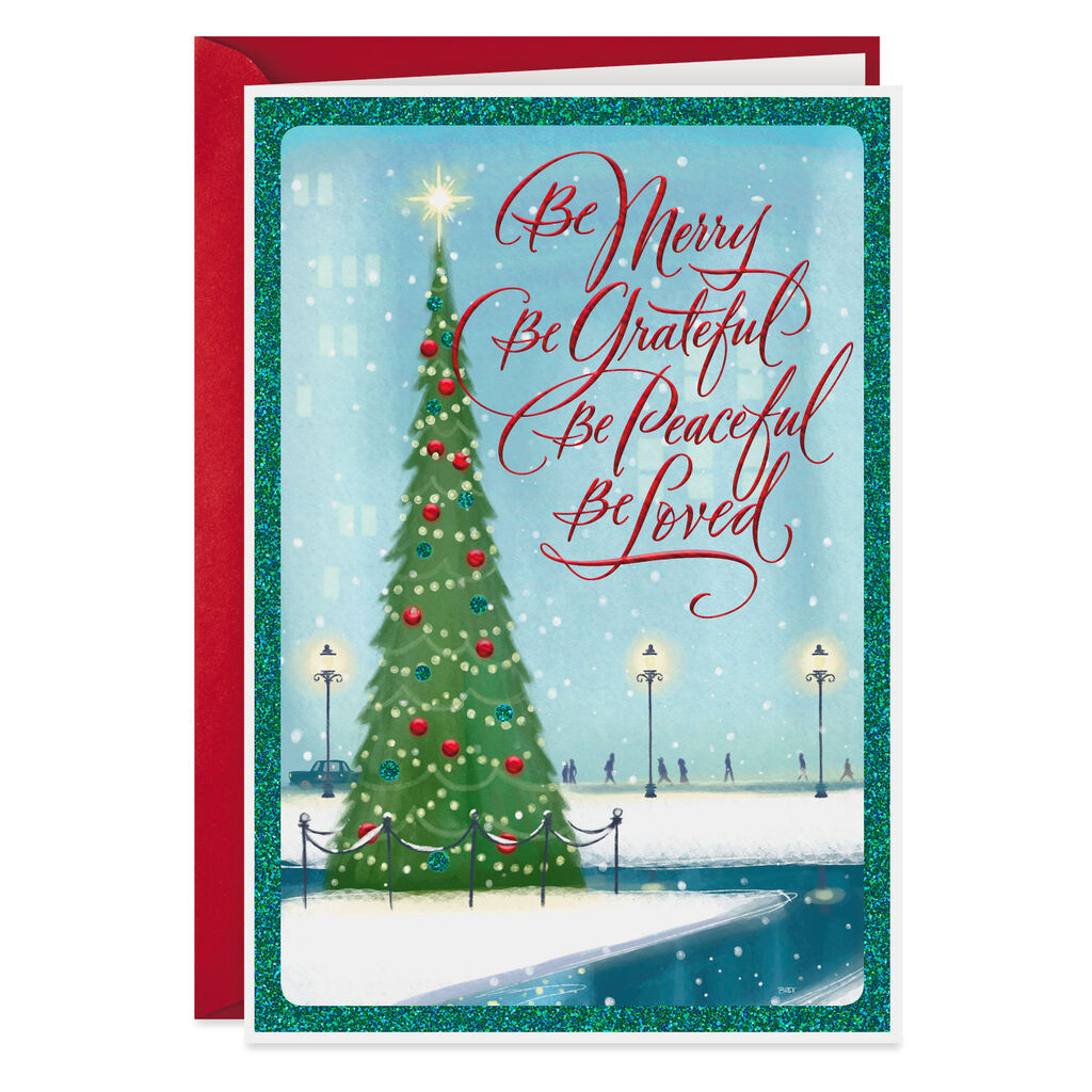 Best Christmas Cards.Blessed With God S Best Gifts Christmas Card
