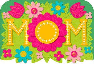 Wonderful Mom Musical Mother's Day Card