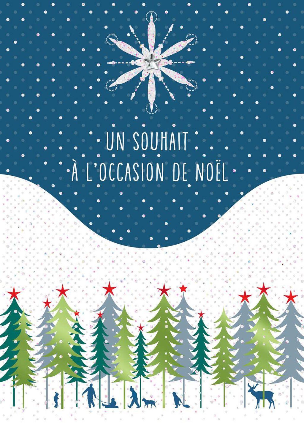 Joyeux Noel French Language Christmas Card Greeting Cards Hallmark