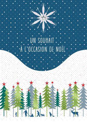 Joyeux Noel French-Language Christmas Card